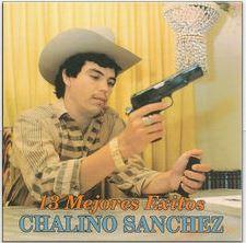 chalino sanchez 13 mejores exitos album cover