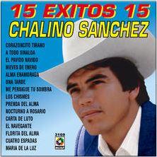 chalino sanchez 15 exitos album cover