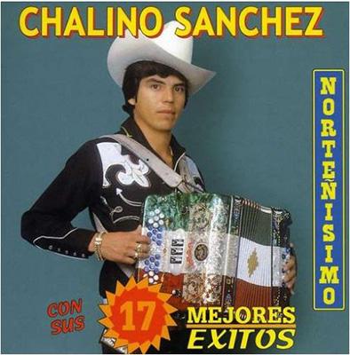 Chalino Sanchez con sus 17 mejores exitos album cover