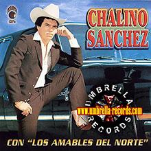 chalino sanchez con los amables del norte album cover