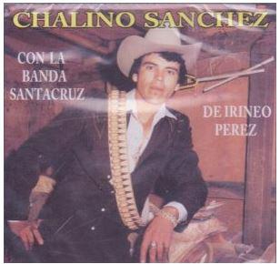 chalino sanchez con la banda santa cruz album cover
