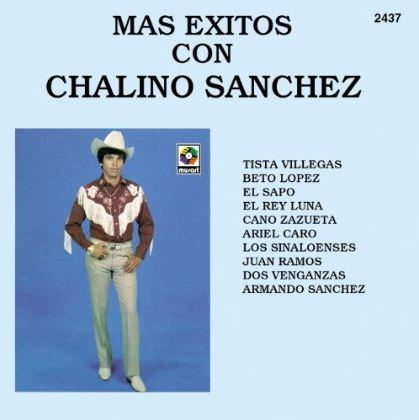 Mas exitos con Chalino Sanchez album cover