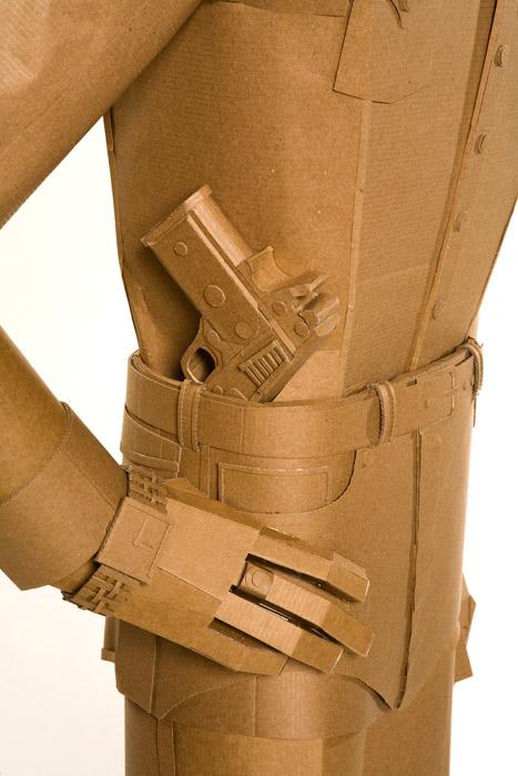 chalino sanchez cardboard sculpture
